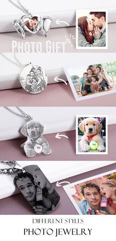 Upload Your Photo and Add Personal Message, Hold on to Precious Moments. Upload Your Photo and Add Personal Message, Hold on to Precious Moments. Diy Schmuck, Schmuck Design, Photo Engraving, Tin Gifts, Matching Gifts, Precious Moments, Photo Jewelry, Custom Photo, Baby Accessories