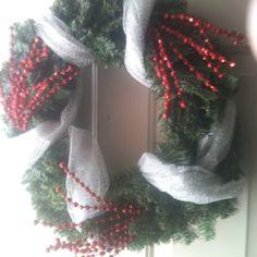 My DIY Christmas Wreath!