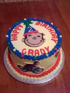 Curios George Cake.