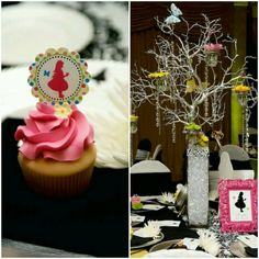 d42e4b7acb5 Cupcakes and centerpieces Alice In Wonderland Decorations
