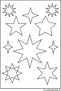 Sternen Vorlage                                                                                                                                                                                 Mehr