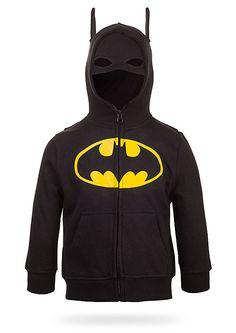 ThinkGeek :: Batman Kids' Costume Hoodie