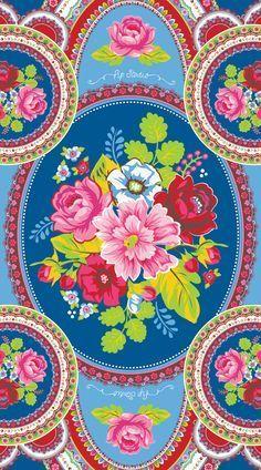 Fabric Wallpaper, Flower Wallpaper, Pattern Wallpaper, Wallpaper Backgrounds, Iphone Wallpaper, Shabby Chic Wallpaper, Wallpapers, Truck Art Pakistan, Pattern Art