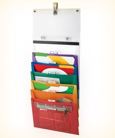 hanging filer great for work-week day organizing Mail Organizing Tips by gwendolyn