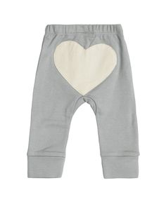 Dove Grey Heart Pant