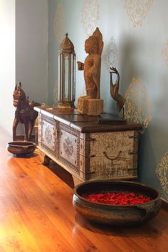 Indian interior design - Jodhpur trunk