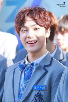 주학년 (Joo Haknyeon) Joo Haknyeon, Pop Crush, Produce 101 Season 2, Btob, Vixx, Handsome Boys, Jaehyun, Boys Who, Boy Bands
