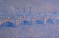 Claude Monet, Waterloo Bridge, Sun, 1903