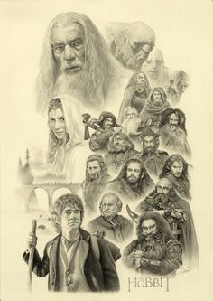 THE HOBBIT (whole vision) by yinyuming on @DeviantArt