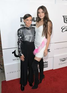 Hailee Steinfeld Photos - Millie Bobby Brown (L) and Hailee Steinfeld attend n:PHILANTHROPY Sponsors Republic Records' VMA After Party 2017 at TAO at the Dream Hotel on August 27, 2017 in Los Angeles, California. - n:PHILANTHROPY Sponsors Republic Records' VMA After Party 2017