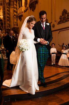 Marriage of Princesse Amélia d'Orléans Bragance and Alexander James Spearman~ August  2014.