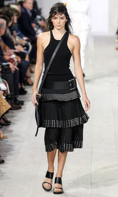 Kendall Jenner owned the runway at Michael Kors.