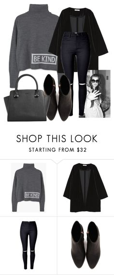 """""""Untitled #1648"""" by velvetgirl10 ❤ liked on Polyvore featuring MANGO and Alexander Wang"""