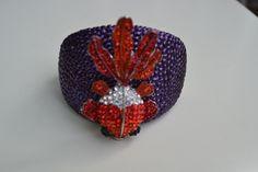 Goldfish Rhinestone Bracelet- $25    Facebook.com/lollyandlou