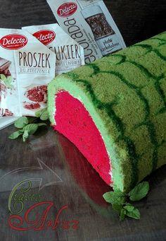 "Przy Piecu: Ciasto ""Arbuz"" z musem malinowym Childrens Meals, Buzzfeed Tasty, Polish Recipes, Polish Food, Asian Desserts, How Sweet Eats, I Love Food, Cake Cookies, Food Videos"