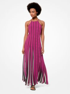 Shop designer dresses for any occasion from the official Michael Kors site. Enjoy free delivery on evening dresses and casual dresses when you shop today. Ombre Maxi Dress, Yellow Midi Dress, Wrap Dress Floral, Vestido Michael Kors, Vestidos Halter, Monique Lhuillier, Mon Cheri, Carolina Herrera, Manu Garcia