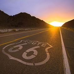 Find yourself on the open road, 66.