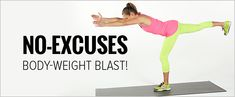 Tone Every Inch of Your Body With Our No-Equipment Workout