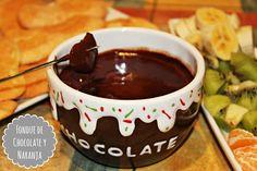 LOS TELARES DE SIL: FONDUE DE CHOCOLATE Y NARANJA