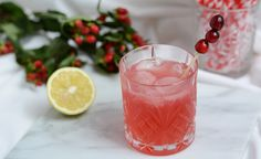 Drinks: Cranberry-Mule