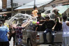 Songkran. Thailand