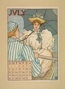 July. (1887-1922) NYPL, Art and Architecture Collection, Miriam and Ira D. Wallach Division of Art, Prints and Photographs. Digital ID 1543253.