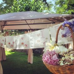 Detalle del #sittingplan #hortensias #pinzas #bodasvintage #Paradores #BodasenParadores #BodasconEstilo