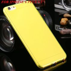 For Apple Iphone 7 6S Plus Clear Transparent Case Super Thin Soft TPU Silicone Cases Fundas For Iphone 6S 6Plus Back Cover N