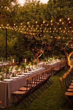 Simple and elegant  outdoor wedding reception inspiration www.theluxepearl.com