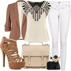 Outfits For Office 2013 | Casual Chic Outfit for Working in the Office casual chic outfit ideas ...
