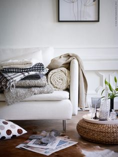 Addera filtar och plädar: SÖDERHAMN soffa