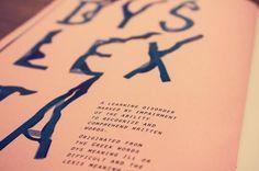 Decoding le Glitch by Irene Florentina, via Behance