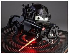 Darth Mater. someone get this for my pixar/ star wars obsessed son!