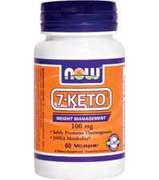 DHEA Supplement - 7 Keto® DHEA by Now Foods at ProHealth