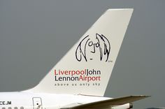 Liverpool John Lennon Airport - 'Above Us Only Sky.'