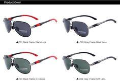 Polarized Sunglasses Glasses Men Outdoor Black Men's Polarized Sunglasses Pilot #PolarizedSunglassesMenPilot #Pilot