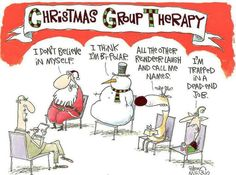 Everyone needs therapy over the holidays