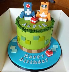 stampy cat cakes - Google Search