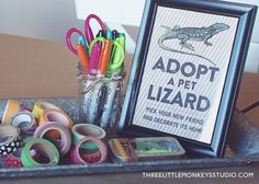 A Reptiles and Amphibians Birthday Party