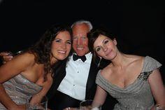 #Atribute to Friends: Giorgio Armani with Roberta Armani and Julia Roberts at the New York Met in 2008. For more, visit Armani.com/Atribute