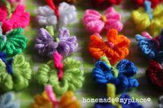 homemade@myplace: Make it! Sweet tiny yarn butterflies!!!