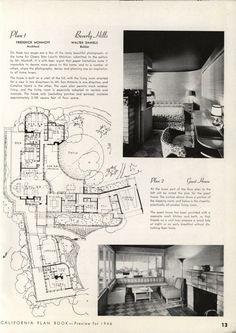 Best House Plans, Dream House Plans, Modern House Plans, House Floor Plans, Architectural House Plans, Architectural Prints, Vintage House Plans, Vintage Homes, Patio Plans