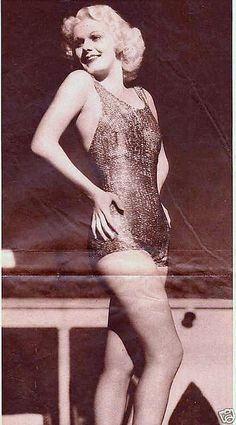 Jean Harlow #vintage #swimsuit