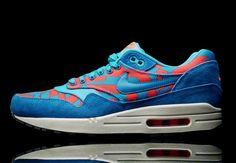 Nike Air Max 1 GPX - Blue Lagoon - Bright Crimson - SneakerNews.com