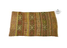 Embroidered Decorative Kilim Rug 2.4x3.3 ft by AnatoliaCollection