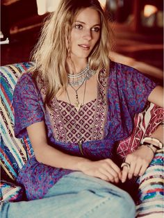 Free People Well Traveled Tunic at Free People Clothing Boutique