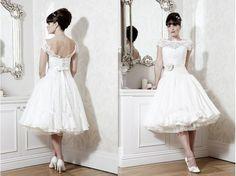 WD Lace Ruffle, Cheap Wedding Dress, Tea Length, Wedding Planning, Wedding Ideas, Wedding Events, Bridal Dresses, Custom Made, Dream Wedding