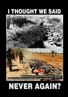 Muslims torturing & murdering Christian men, women & children…Nazi Germany all over again…while the world watches.