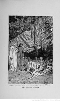 La divine comédie (Nouvelle édition) / Dante Alighieri ; traduction de Artaud de Montor ; illustrations de Yan Dargent  http://gallica.bnf.fr/ark:/12148/bpt6k5449871p/f198.highres