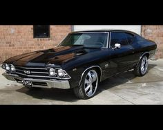 69 Chevelle Malibu SS Jet Black I absolutely love this car and I will own it one day:)